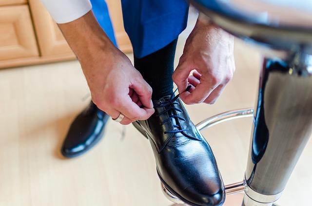 zavazování boty