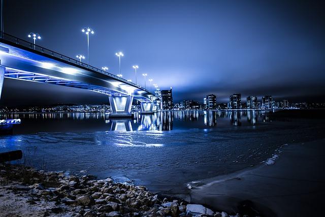 osvětlení mostu