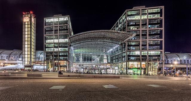 osvětlení obchodního centra